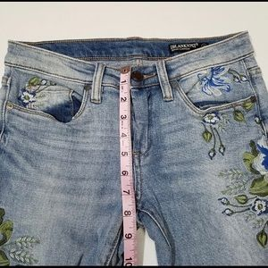 Blank NYC Jeans - Blank NYC Embroidered Floral Jeans